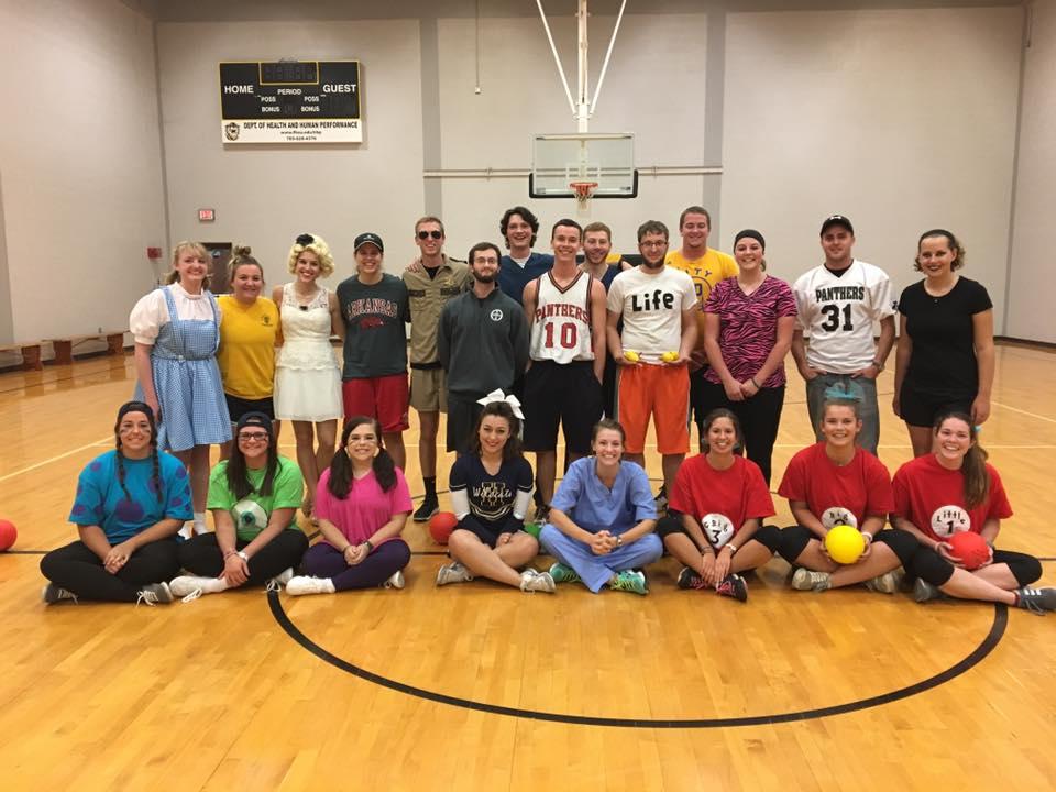 Halloween Dodgeball 2016