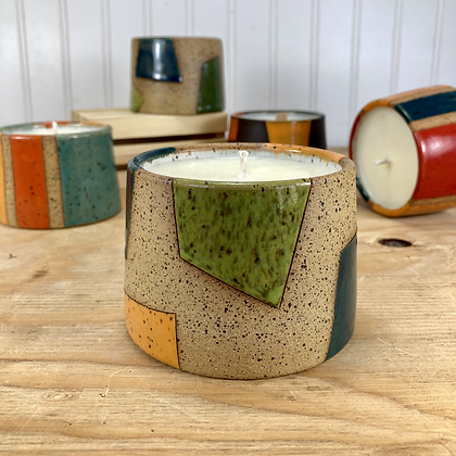 Funky Vanilla Candle