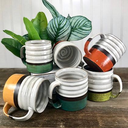Retro Color Mugs | Made-to-Order