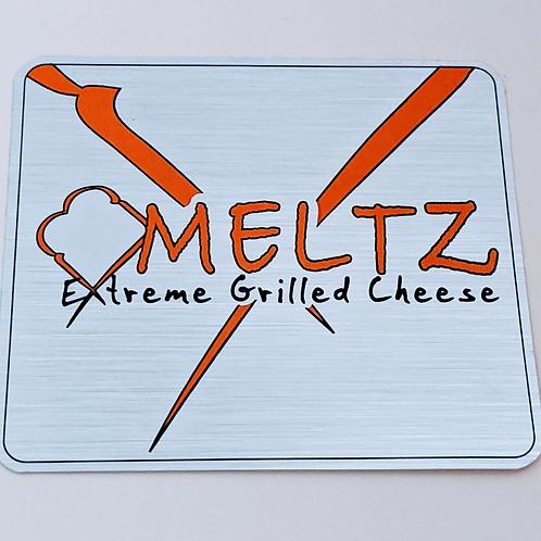 Meltz Brand Sticker