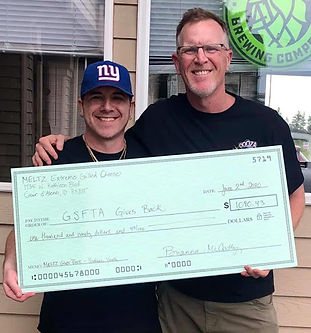 Meltz Gives To the Greater Spokane Food Truck Association
