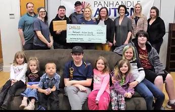 Meltz Donates to the Panhandle Autism Society