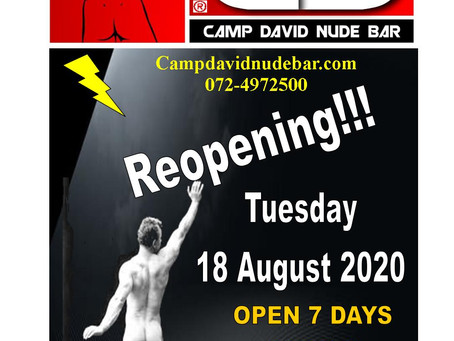 CAMP DAVID NOW OPEN