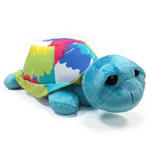 Terrific Tie Dye - Stuffed Toy - Turtle