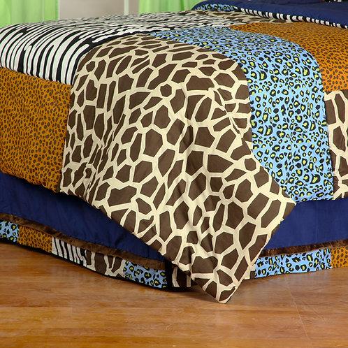 Jazzie Jungle Boy - Full Bed Skirt