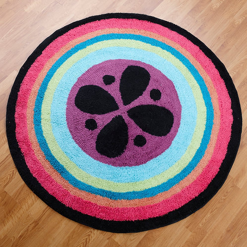 Magical Michayla - 3x3 Round Rug