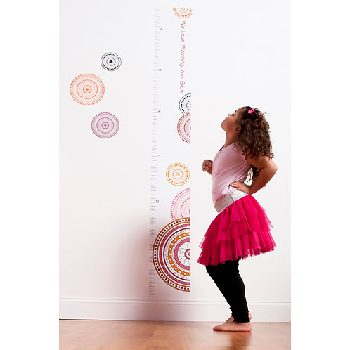Sophia Lolita - Growth Chart Decal