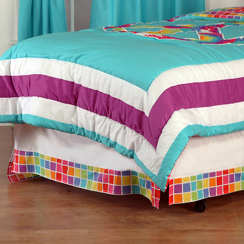Terrific Tie Dye - Twin Bed Skirt