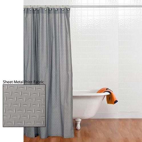 Teyo's Tires - Shower Curtain w/ Hooks