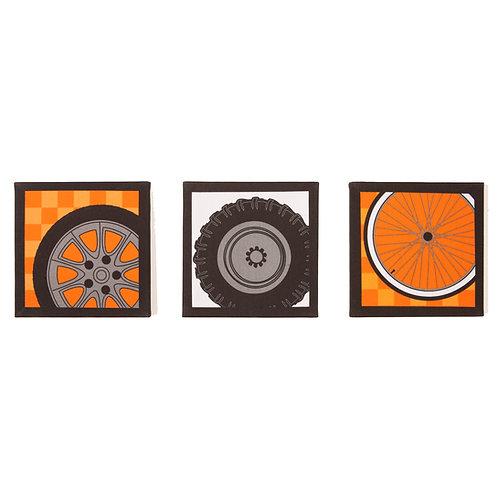 Teyo's Tires - Canvas Art