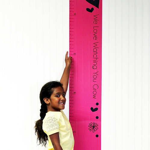 Sassy Shaylee - Growth Chart Decal