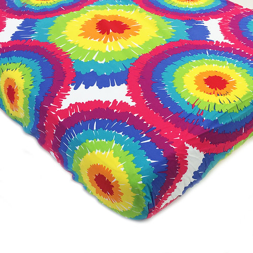 Terrific Tie Dye - Tie Dye Crib/Toddler Sheet