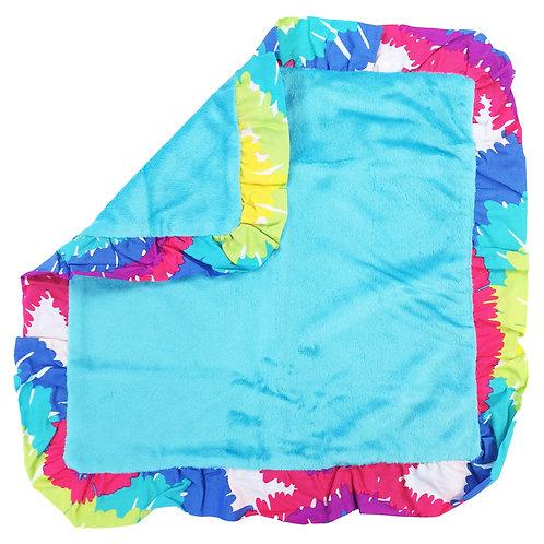 Terrific Tie Dye - Binky Blanket