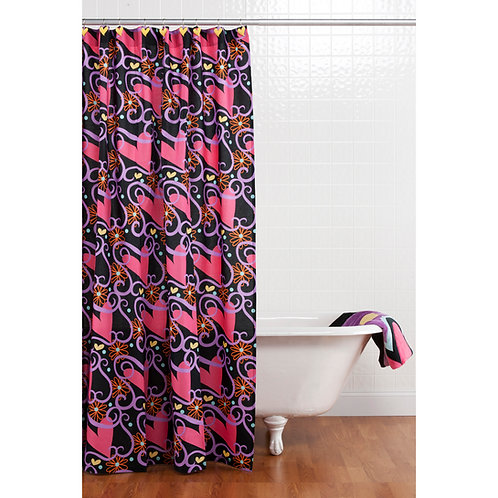Sassy Shaylee - Shower Curtain w/ Hooks