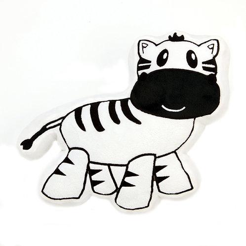 Jazzie Jungle Boy - Zebra Pillow