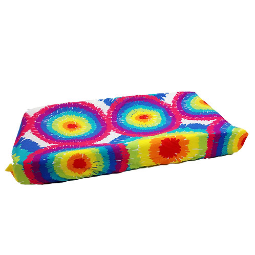 Terrific Tie Dye - Changing Pad Cover