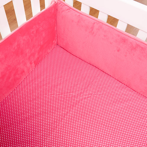 Simplicity Hot Pink - Crib/Toddler Sheet
