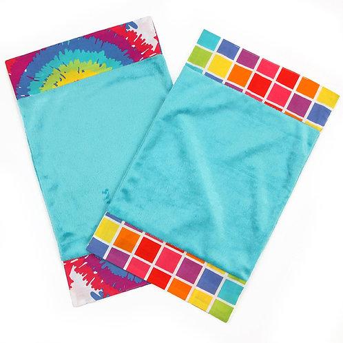 Terrific Tie Dye - Burp Cloth