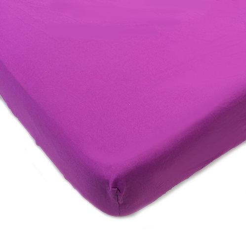 Terrific Tie Dye - Purple Crib/Toddler Sheet
