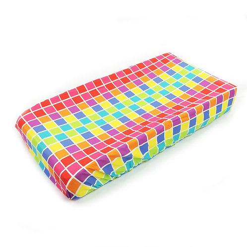 Terrific Tie Dye - Changing Pad Cover Squares