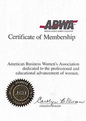 ABWA Certificate of Membership.png