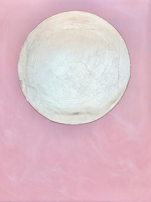 Pink Marbled Moon