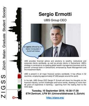 Lessons learned on the trading floor and in the executive board with Sergio Ermotti