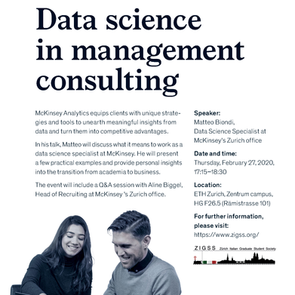 Data Science in Management Consulting - McKinsey Analytics