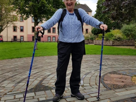5th October - Pensioner's 84 mile walk home