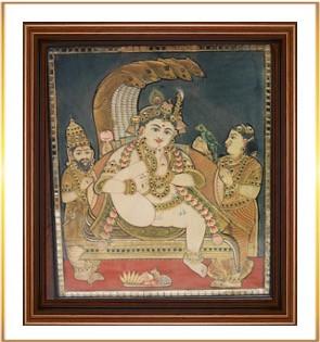 Krishna on Sheshnag 1