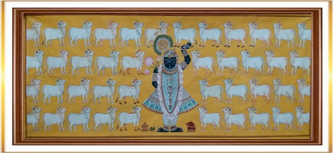 Srinathji with Cows 1