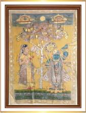 Srinathji with Sakhi Antique