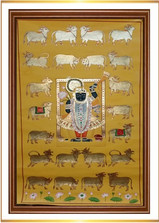 Srinathji with Cows 2