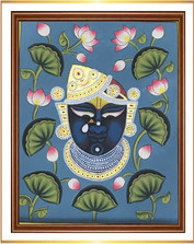 Srinathji Face with Lotus