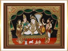 Krishna on Sheshnag 2