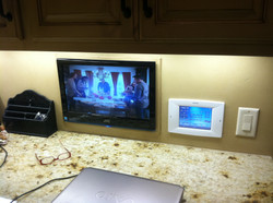 Under Counter TV and Control