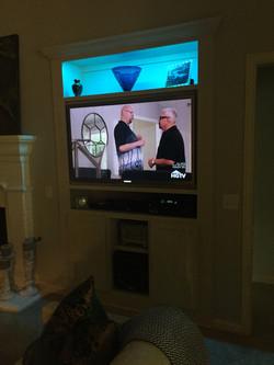 TV Cabinet Lighting