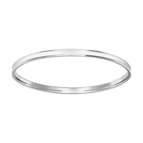 Браслет жёсткий из серебра с эмалью