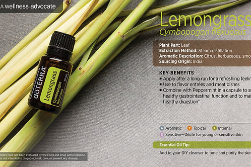 Lemongrass 15 mL