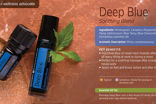 Deep Blue (Soothing Blend)