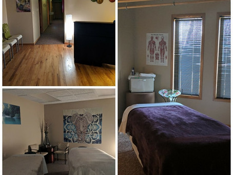 Blooming Massage has moved!, New Restorative Yoga Workshops, Welcoming Hope & Healing Counseling