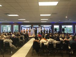 Seated Wedding