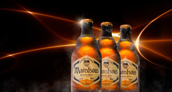 Maredsous on Fire