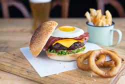 Old Bridge Breakfast Burger