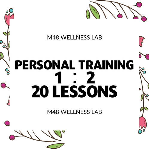 Personal Training 1:2 20 lessons