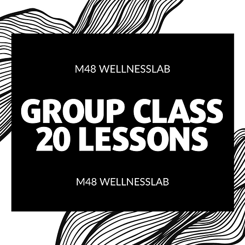 Group Class 20 lessons