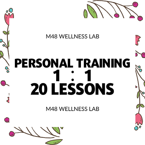 Personal Training 1:1 20 lessons