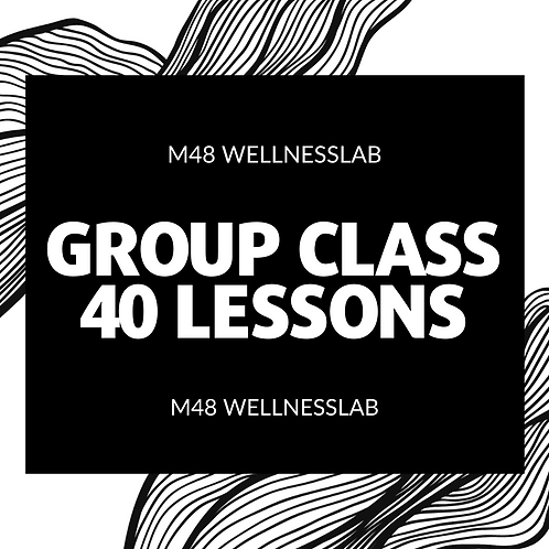 Group Class 40 lessons