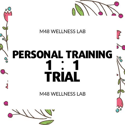 Personal Training 1:1 Trial
