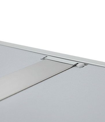 Aluminium boord en verlichtingsbalk
